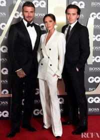 Beckhamovi na GQ awards