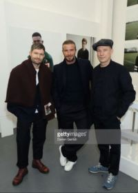 David Beckham na London Fashion Weeku